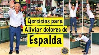 Cómo aliviar los DOLORES DE ESPALDA | Dr MaYu