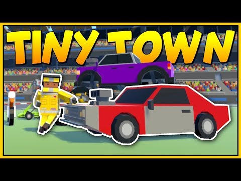 BUILDING THE BIGGEST VR RACING TRACK THE WORLD HAS EVER SEEN - Tiny Town VR Gameplay - VR HTC Vive