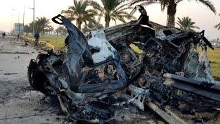 تعرف على أسماء قتلى الغارة الأميركية على مطار بغداد
