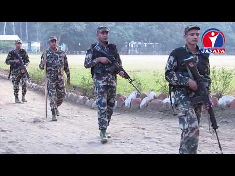 निर्वाचन भयरहित र शान्तिपूर्ण बनाउन नेपालको हजारौ सुरक्षाकर्मी तैनाथ
