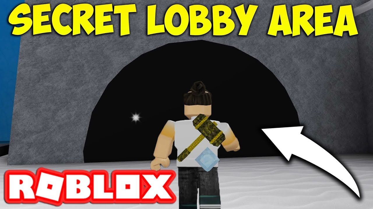 Whats In The Secret Lobby Area Roblox Flee The Facility Youtube