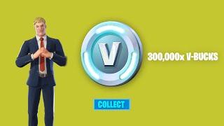 SECRET CODE Unlocks 300,000 Fŗee V-Bucks in Fortnite Season 7! (How To Get Free V Bucks)
