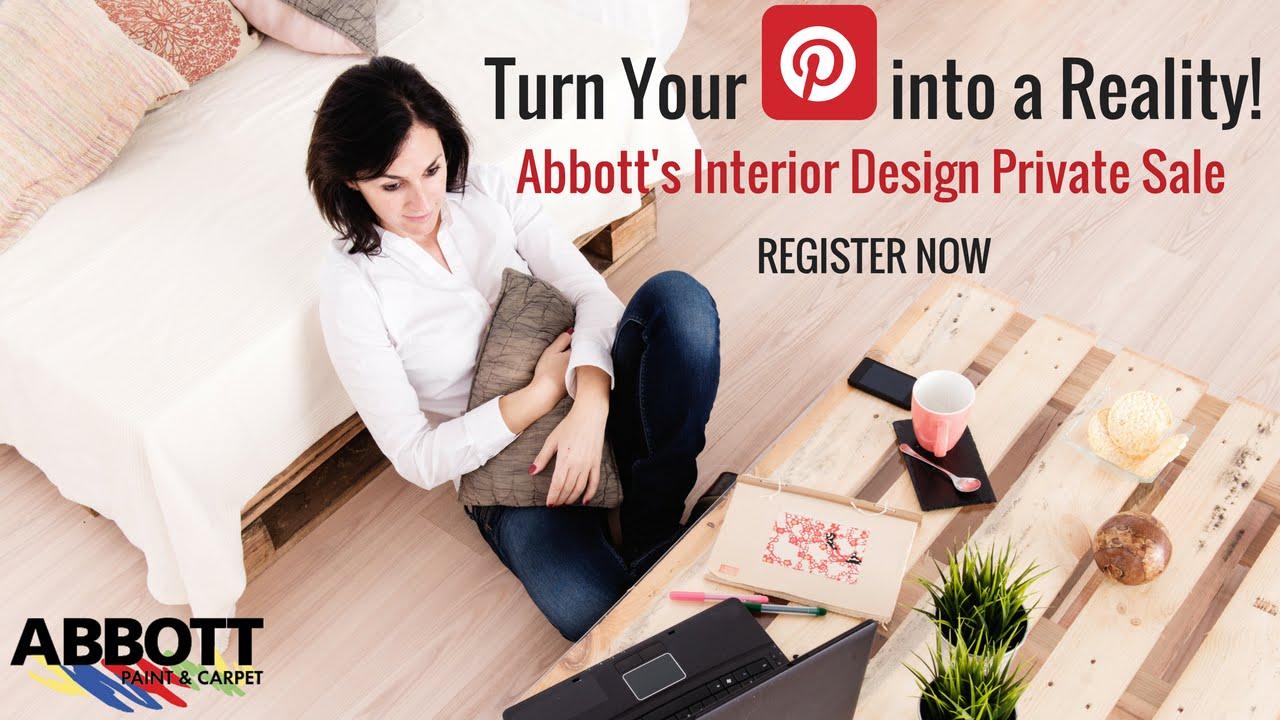 Abbott's Interior Design PRIVATE SALE - St. Paul, Stillwater, White Bear Lake. Abbott Paint & Carpet ...