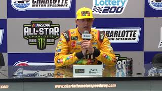 Kyle Busch: '(Ford) Has A Little Bit Of An Advantage This Year'