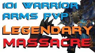 Hydraulic - Level 101 Arms Warrior Twink PvP - Legion Patch 7.2