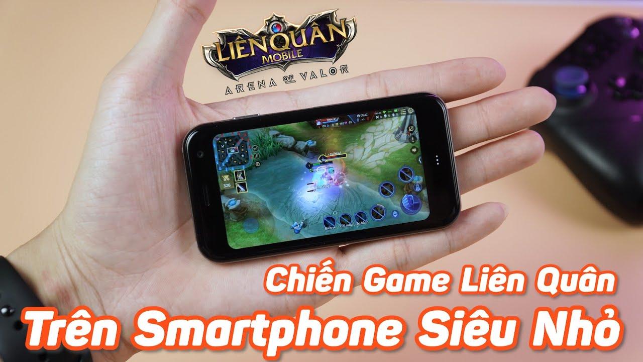 Download Chiến Game Liên Quân Mobile Trên Smartphone Siêu Nhỏ - Cấu Hình Mạnh Chiến Game Cực Mượt Mà!