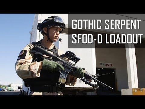 Gothic Serpent SFOD-D Kit! Spartan117GW - Airsoft GI