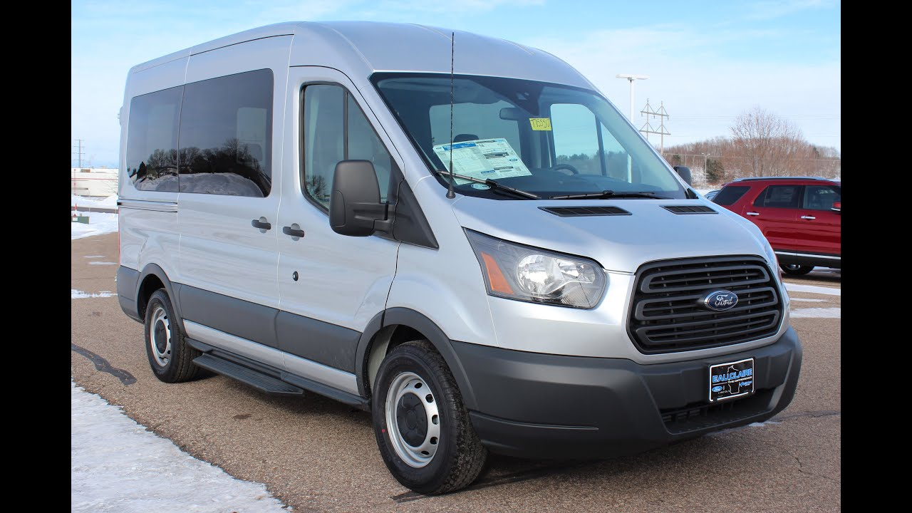 2016 ford transit 150 wagon xl medium roof 10 passenger van