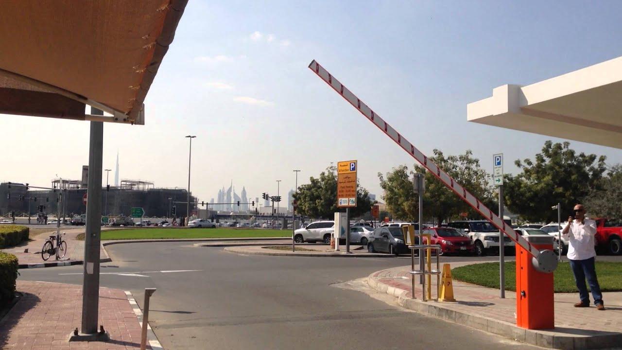 NICE Gate Barrier – Heavy Duty M3BAR installed at Dubai Public Prosecution