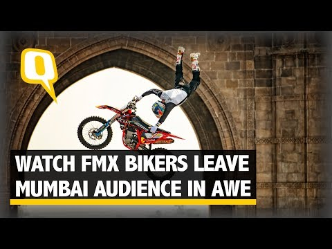 Bikers Stun Mumbaikars at FMX Jam | The Quint