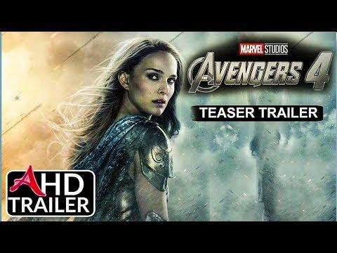 Avengers 4: ENDGAME – TEASER TRAILER #1 – Josh Brolin, Brie Larson Film (CONCEPT)