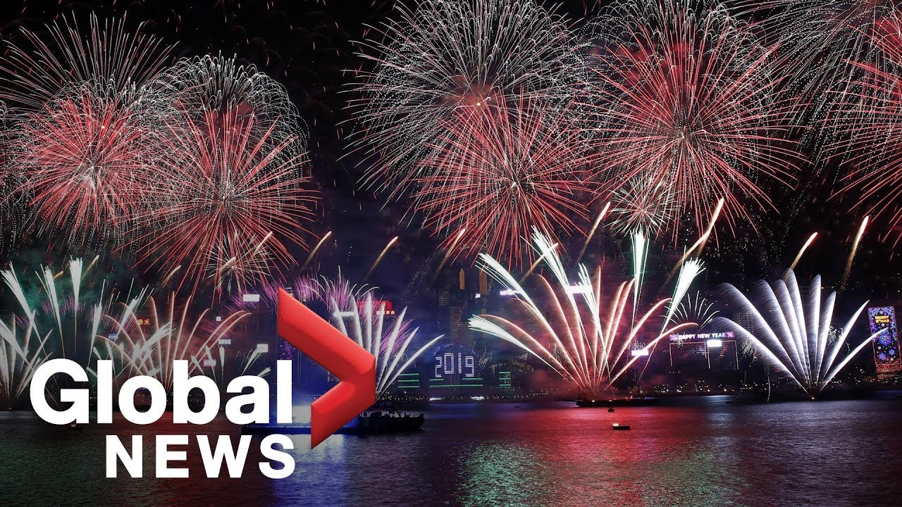 New Year's 2019: Hong Kong's Spectacular Display