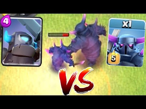 MINI PEKKA Vs. BIG PEKKA!! | Clash Of Clans | Battle To The Death!!