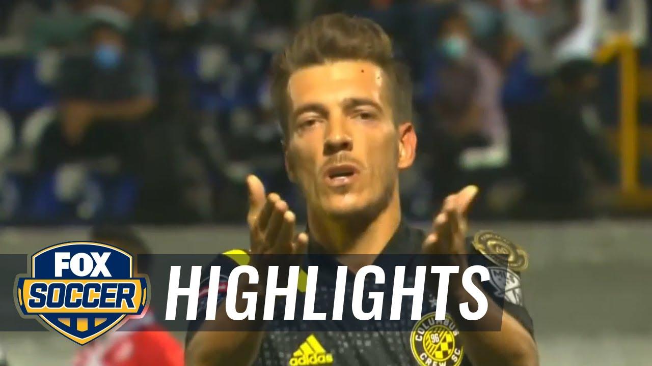 CONCACAF Champions League Quarterfinals Leg 1: Columbus vs ...