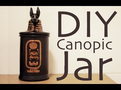 DIY Canopic Jar