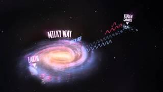 Radio Telescope Reveals Hundreds Of Hidden Galaxies Behind Milky Way