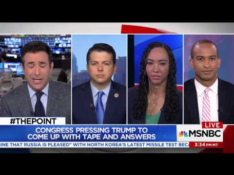 The Latest on FBI Director James Comey's firing on Ari Melber/The Point on MSNBC (5/14/17)