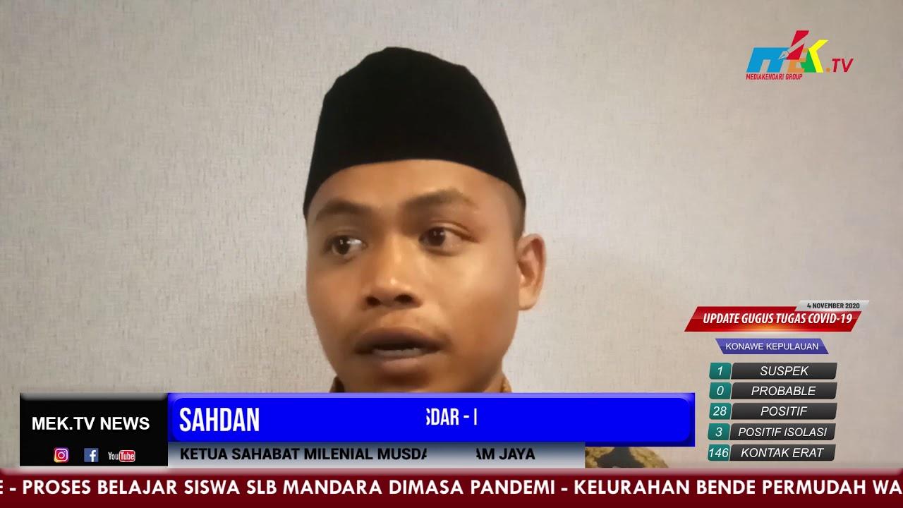 Deklarasi Sahabat Milenial Musdar - Ilham Jaya Resmi Terbentuk