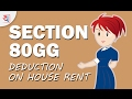 Section 80GG: Deduction On Rent paid   Tax Saving Tips explained by Yadnya