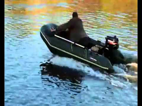Лодочный мотор HANGKAI на 5 л.с. (Ханкаи) лодка ПВХ Хантер 290 на .