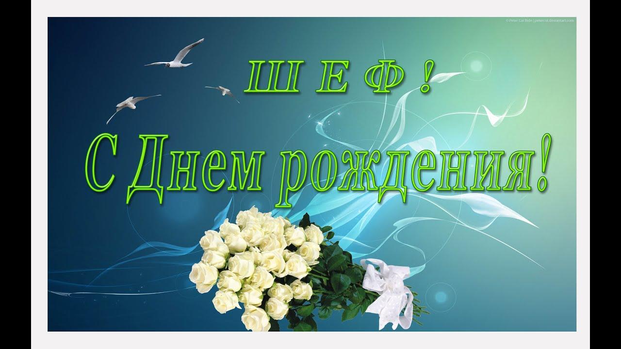 Поздравления с днем рождения начальнику в прозе - Поздравок