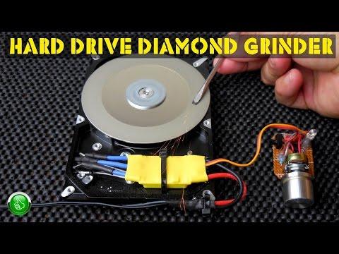 HARD DRIVE (HDD) Diamond Grinder Conversion