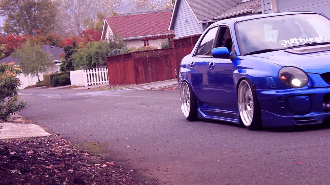 Andrew Lange S Stanced Wrx Youtube