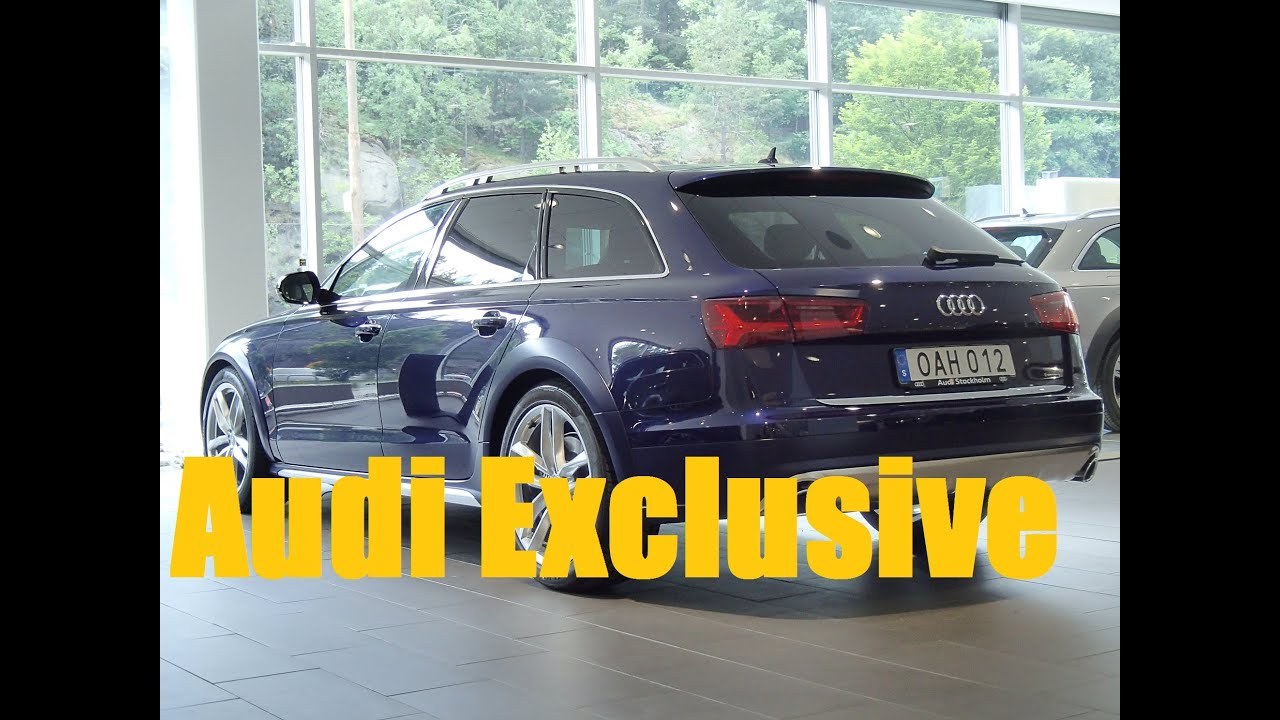 2017 mystic blue audi a6 allroad audi exclusive youtube. Black Bedroom Furniture Sets. Home Design Ideas
