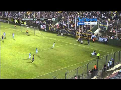 Gimnasia y Tiro 2 - 0 Boca - Torneo de verano 2014