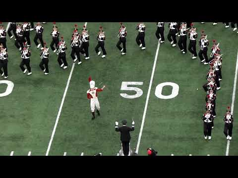 Ohio State Marching Band Halftime Show during Michigan game