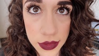 BEST MASCARA EVER! (omg I am so cross-eyed in this thumbnail ew lol)