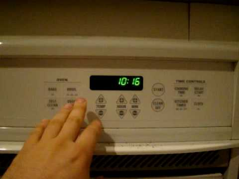 The Fatal F7 Error On A Ge Oven Youtube