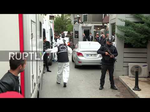 Turkey: Forensic teams scour Saudi consul's Istanbul residence