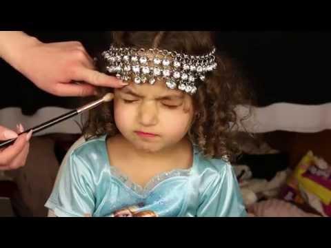 Cutest little girl makeup tutorial