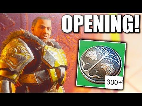 Destiny 2 - OPENING 15+ IRON BANNER ENGRAMS !!!
