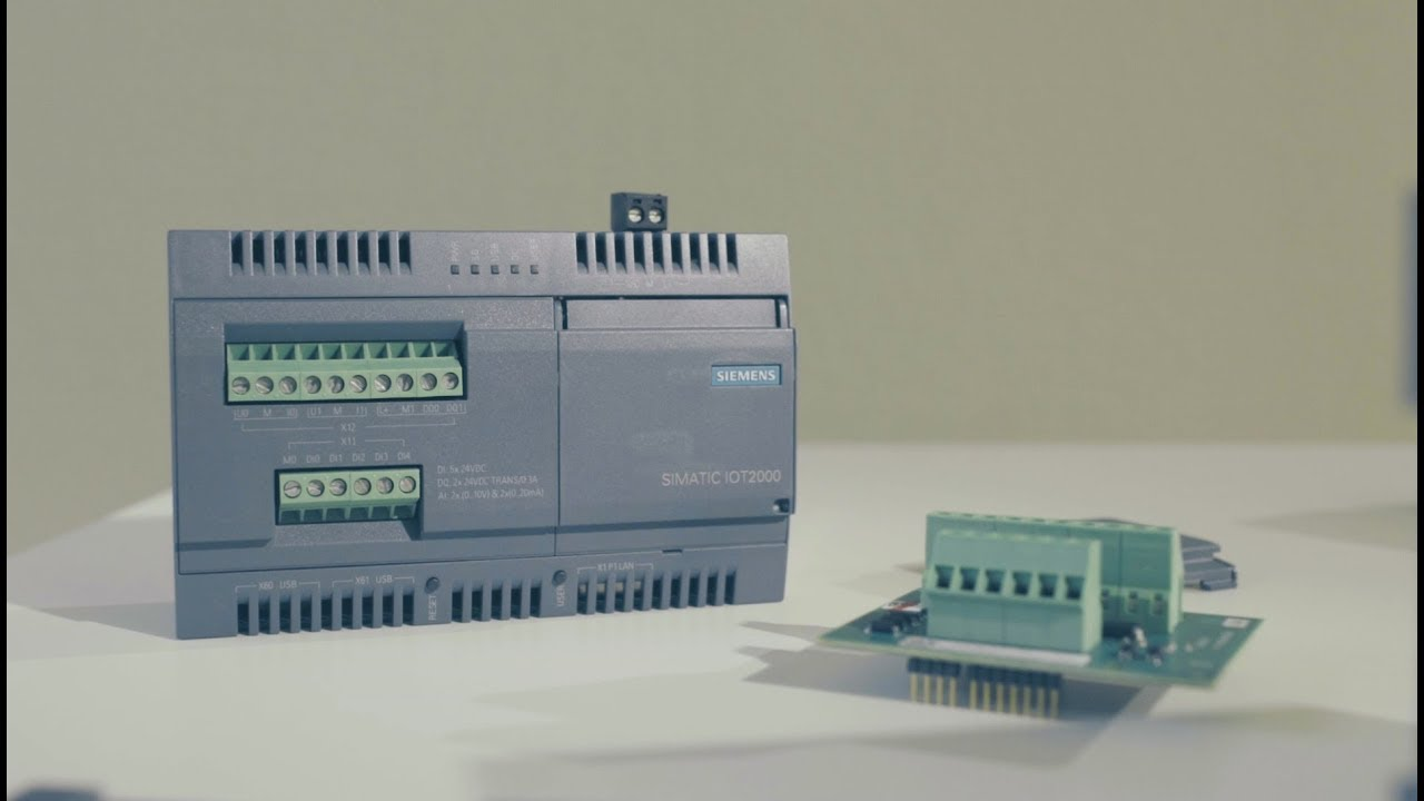 Experts recommend the SIMATIC IOT2020 | RS Components