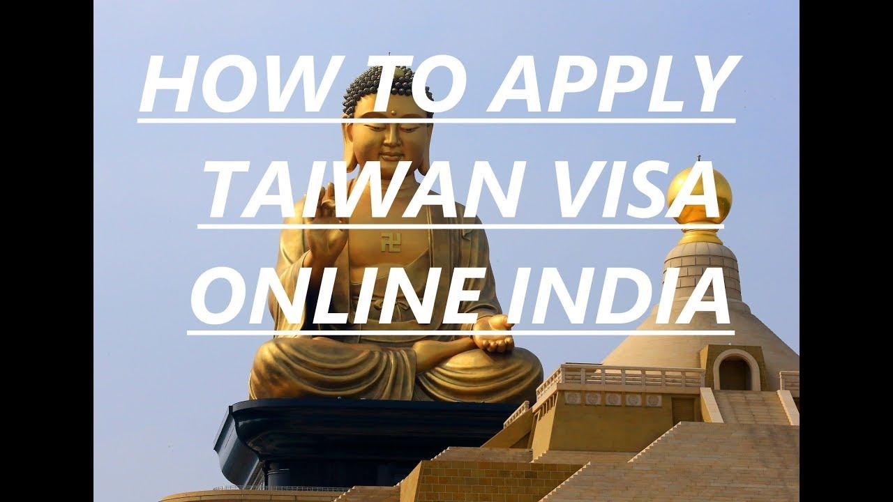How To Apply Taiwan Visa Online Taiwan Tourist Visa Checklist Youtube