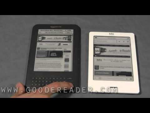 Kindle Special Offers WIFI and Kobo Touch Comparison