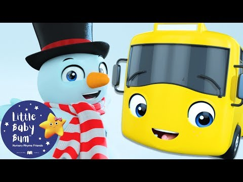 Go Buster - Buster Builds a Snowman | BRAND NEW! | Kids Cartoon | Baby Songs | Little Baby Bum