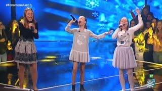 Fenómeno Fan (T2) | Charlotte, Laura y Auxi cantan a Disney