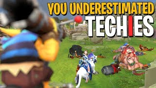 You Underestimated Techies | +251 Damage Talent - DotA 2