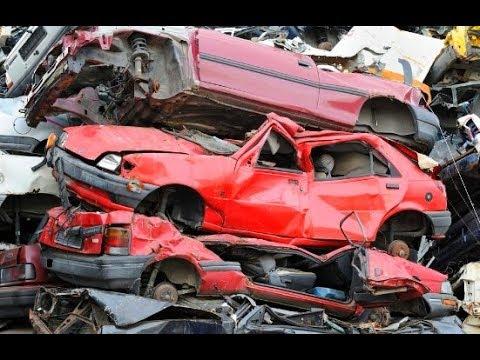 Mayapuri Delhi Ii Asia Biggest Car Scrap Market Ii Youtube