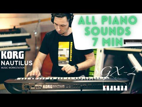 KORG NAUTILUS ALL GRAND PIANO