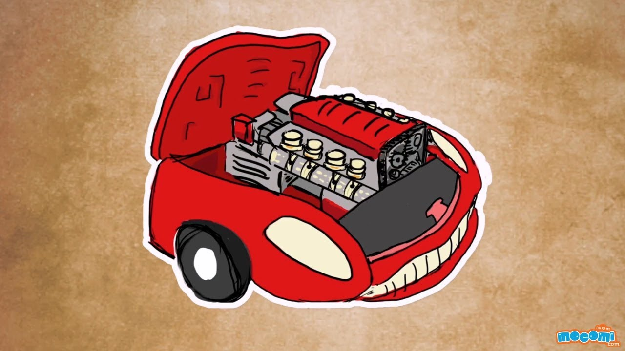 small resolution of how does a car engine work science for kids educational videos by mocomi