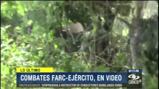 Guerrillera grabó, paso a paso, un ataque de las FARC