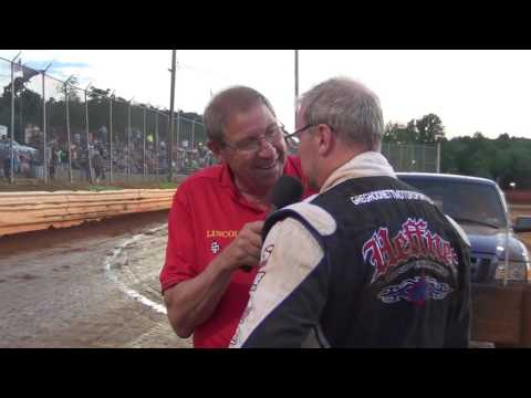 Lincoln Speedway 410 Sprint Car Victory Lane 7-09-16