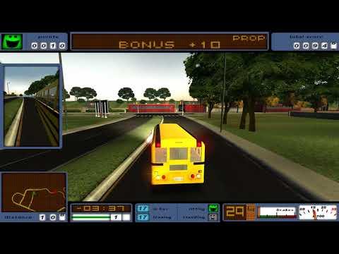 Bus Driver #14 Eastern High School 🎮 James Games  
