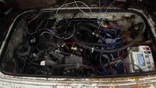 VW T3. Двигатель1.8 карбюратор.Давление масла на холодную.(, 2014-01-11T13:45:59.000Z)