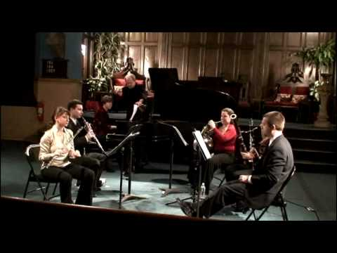 Dolce Suono Chamber Music Concert Series - Poulenc Sextet movement 2