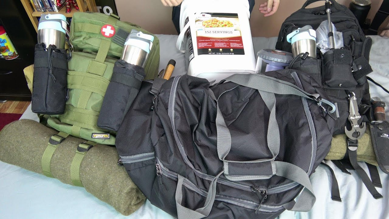 Doomsday Prepper Bug Out Bags Special Episode!
